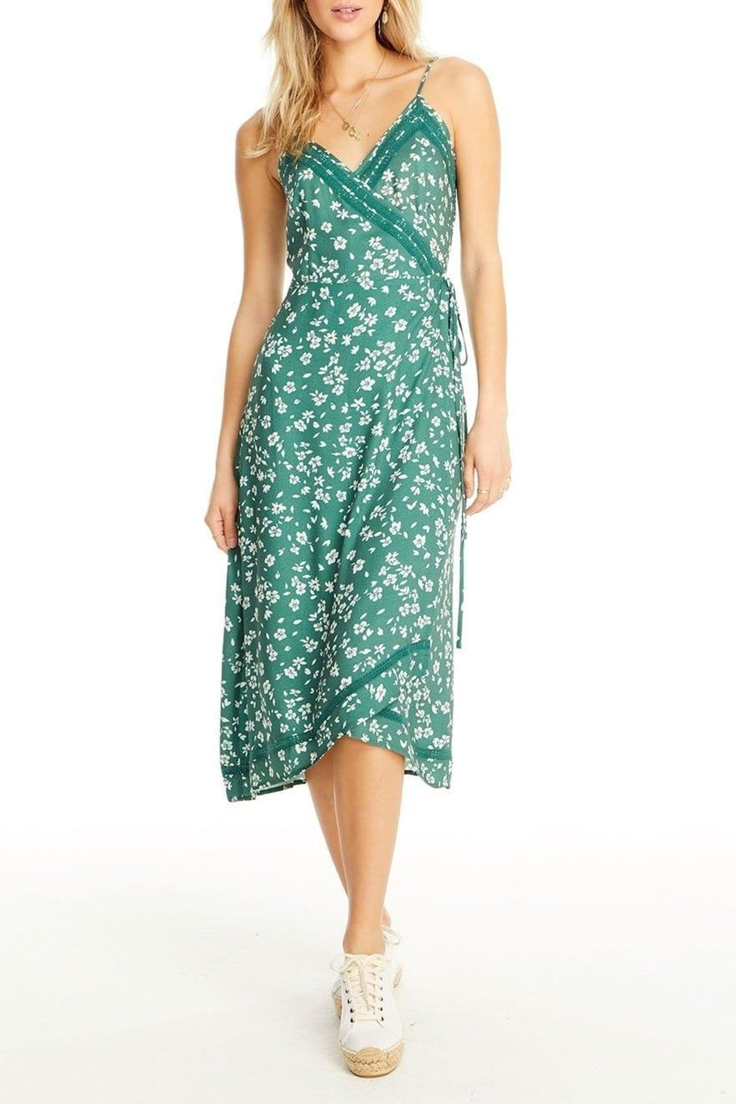 Saltwater Luxe Molly Wrap Dress - Main Image