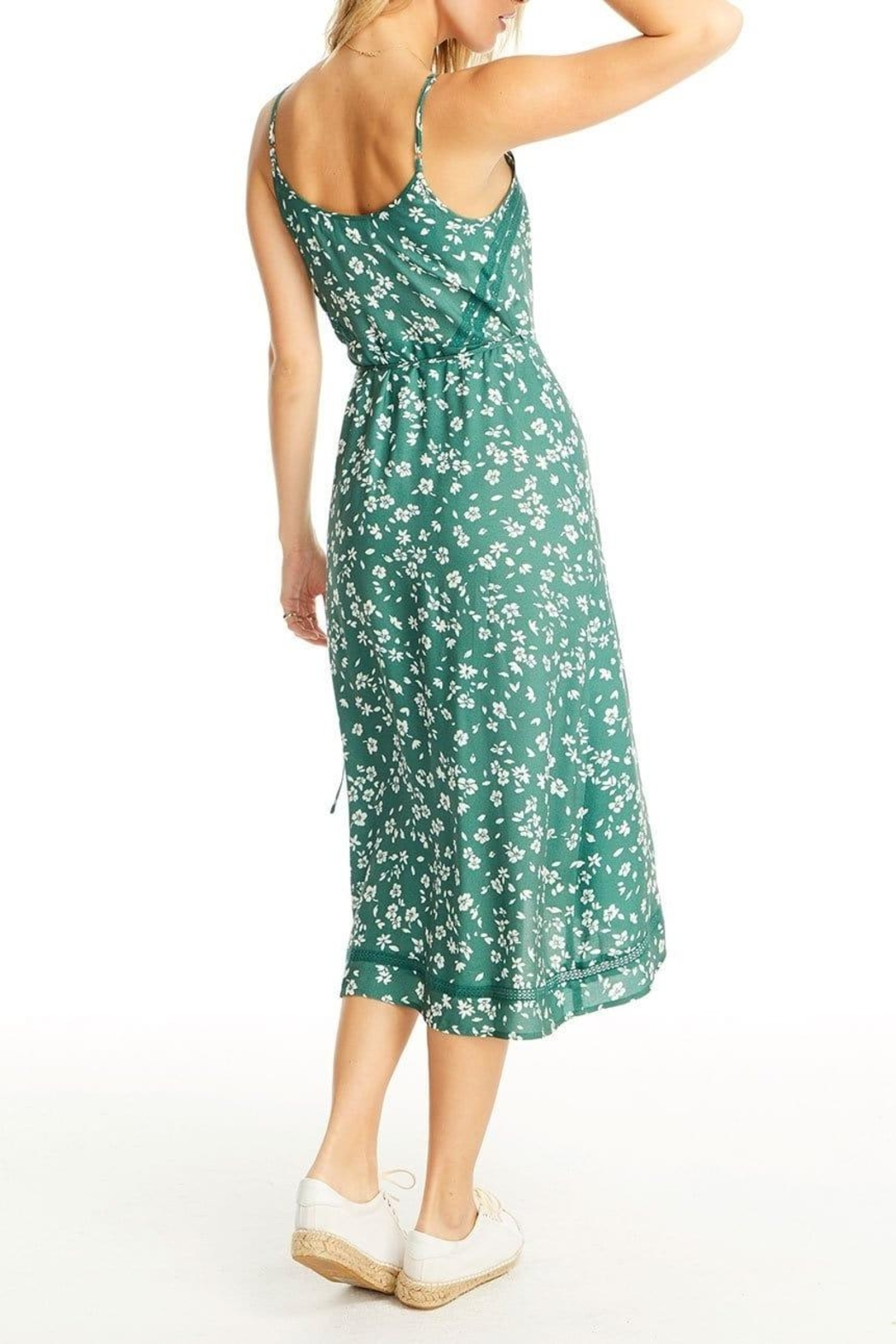 Saltwater Luxe Molly Wrap Dress - Side Cropped Image