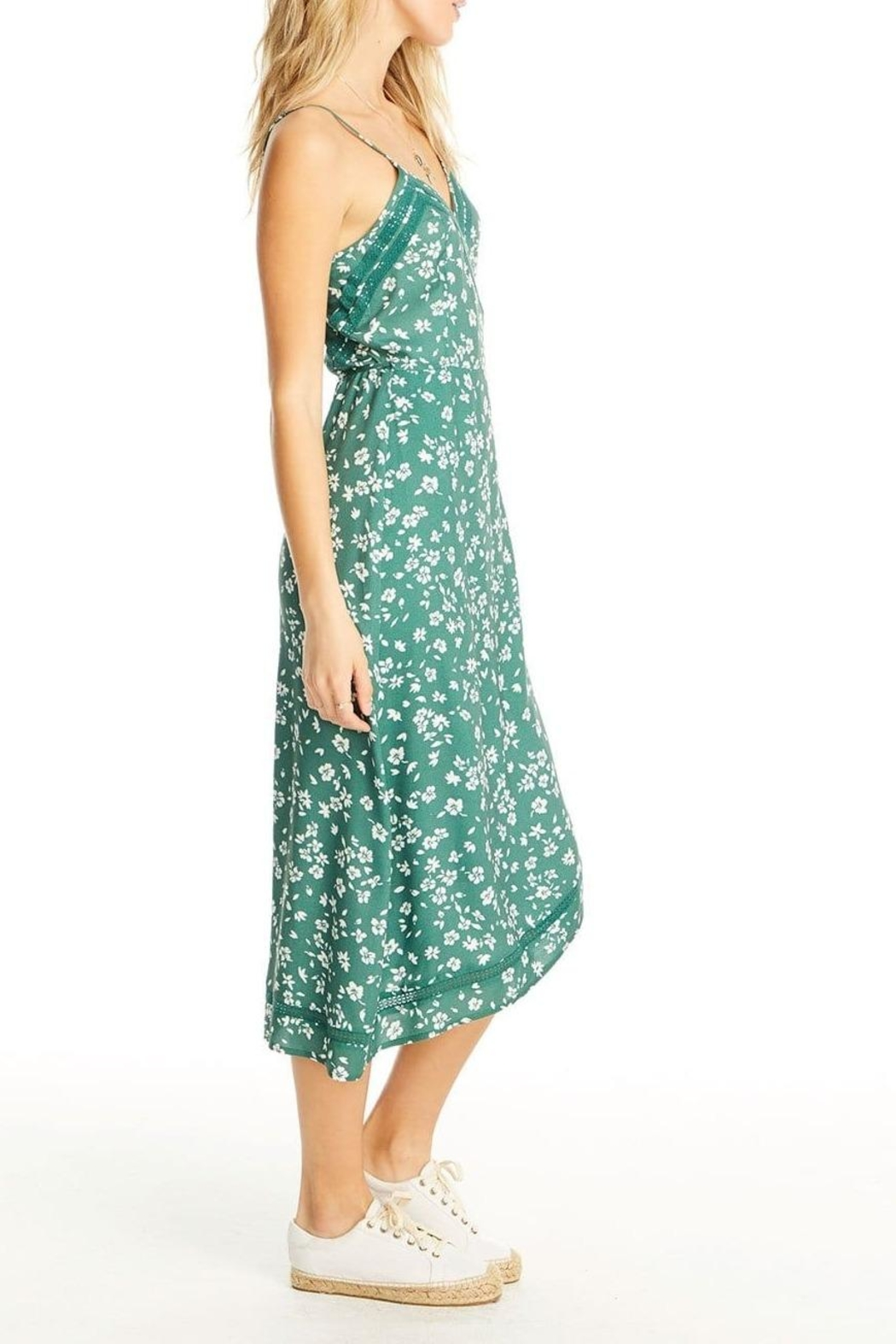 Saltwater Luxe Molly Wrap Dress - Front Full Image
