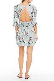 Saltwater Luxe Open Back Floral - Front full body