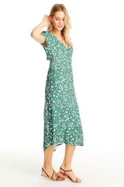 Saltwater Luxe Open Back Midi - Front full body