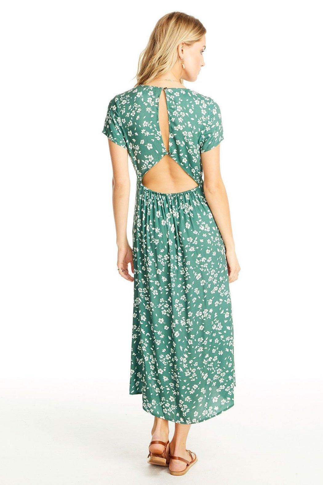 Saltwater Luxe Open Back Midi - Side Cropped Image