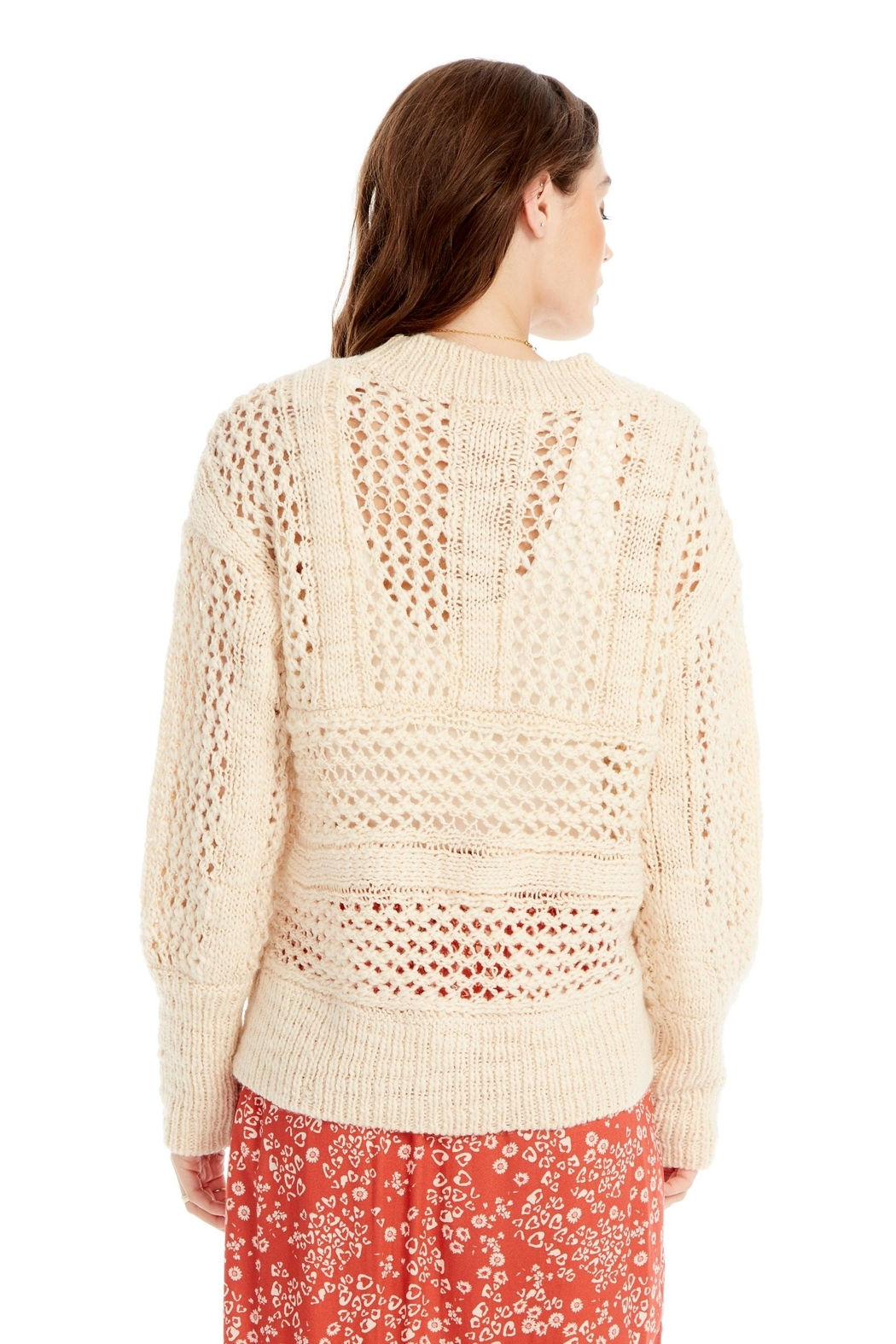 Saltwater Luxe Salty Sweater - Side Cropped Image