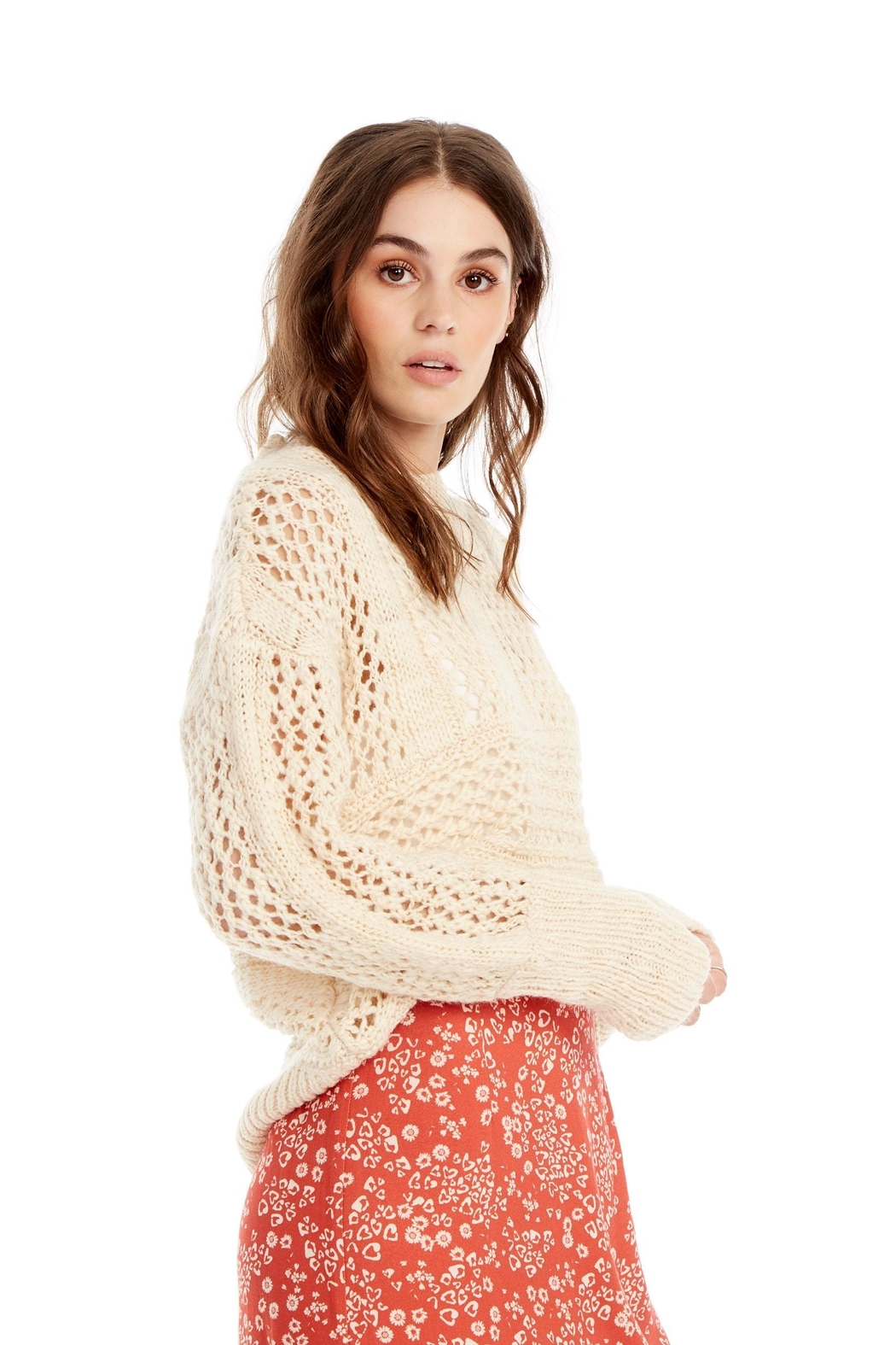 Saltwater Luxe Salty Sweater - Front Full Image