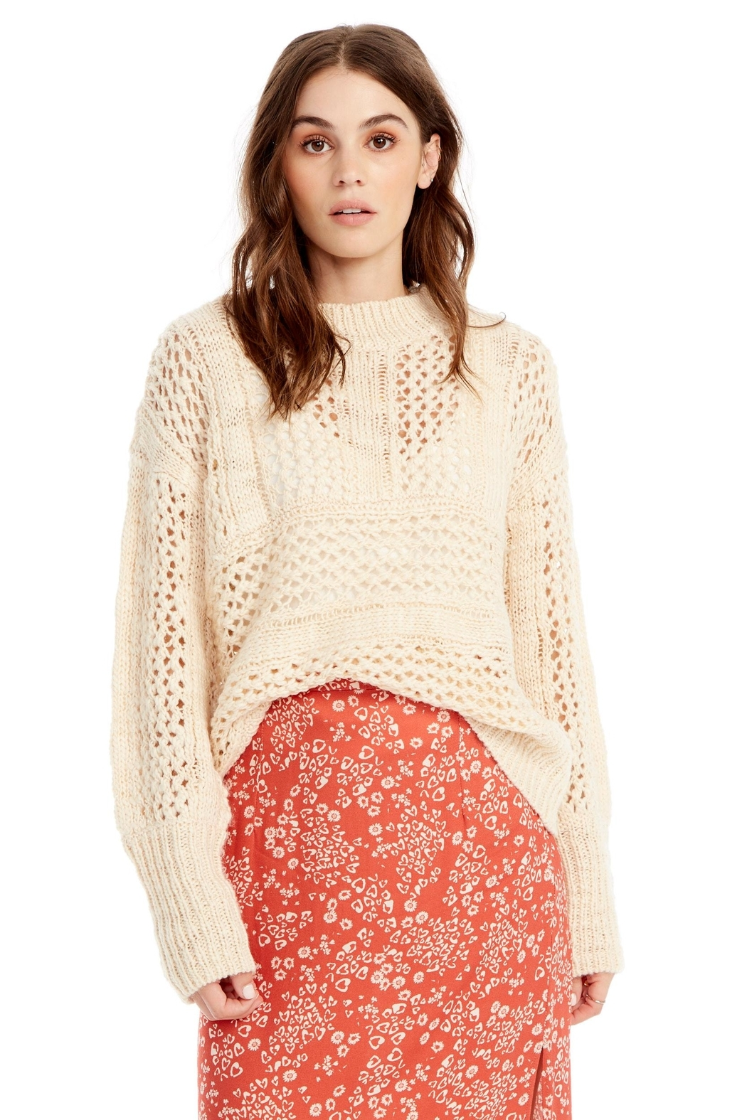 Saltwater Luxe Salty Sweater - Main Image