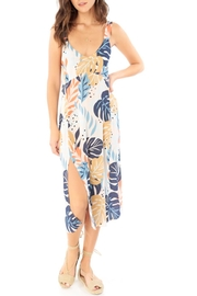 Saltwater Luxe Palm Print Midi - Product Mini Image