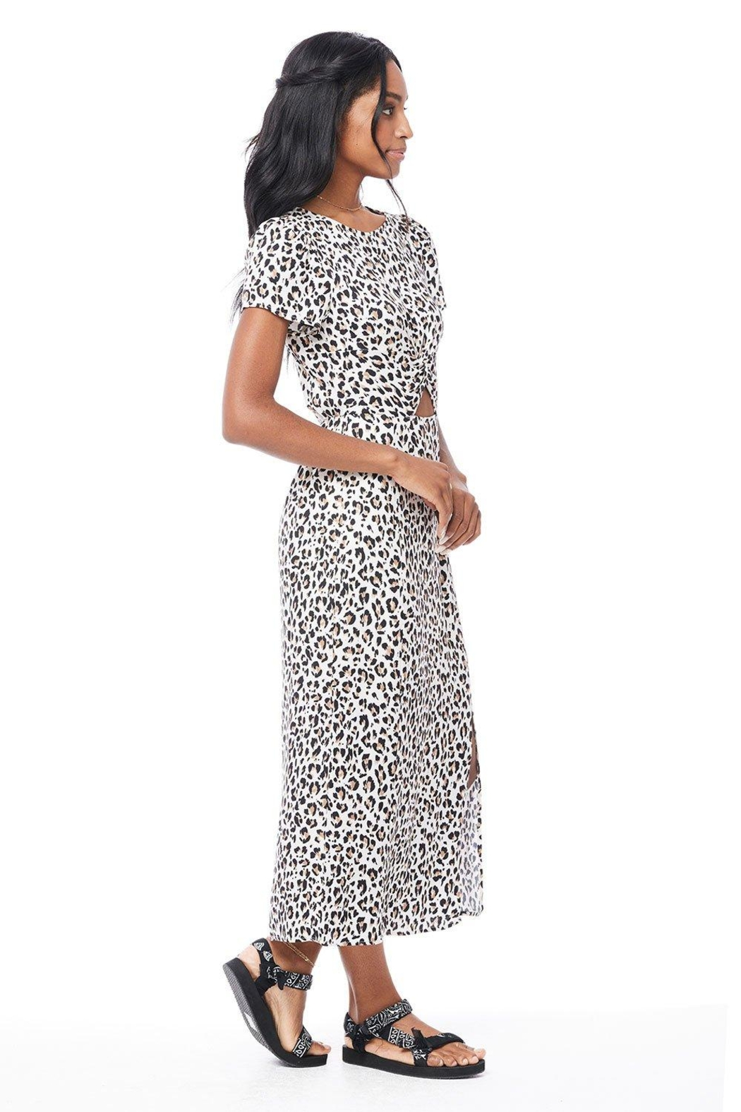 Saltwater Luxe Peg Midi Dress - Front Full Image