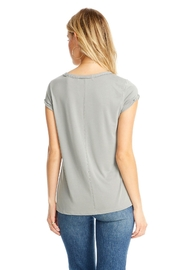 Saltwater Luxe Rolled S/s Tee - Side cropped