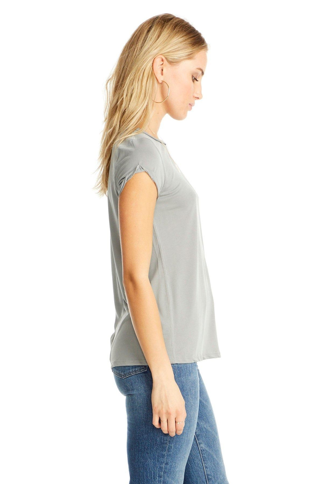 Saltwater Luxe Rolled S/s Tee - Front Full Image