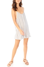 Saltwater Luxe Ruffle Hem Romper - Product Mini Image