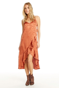 Shoptiques Product: Ruffled Slip Dress