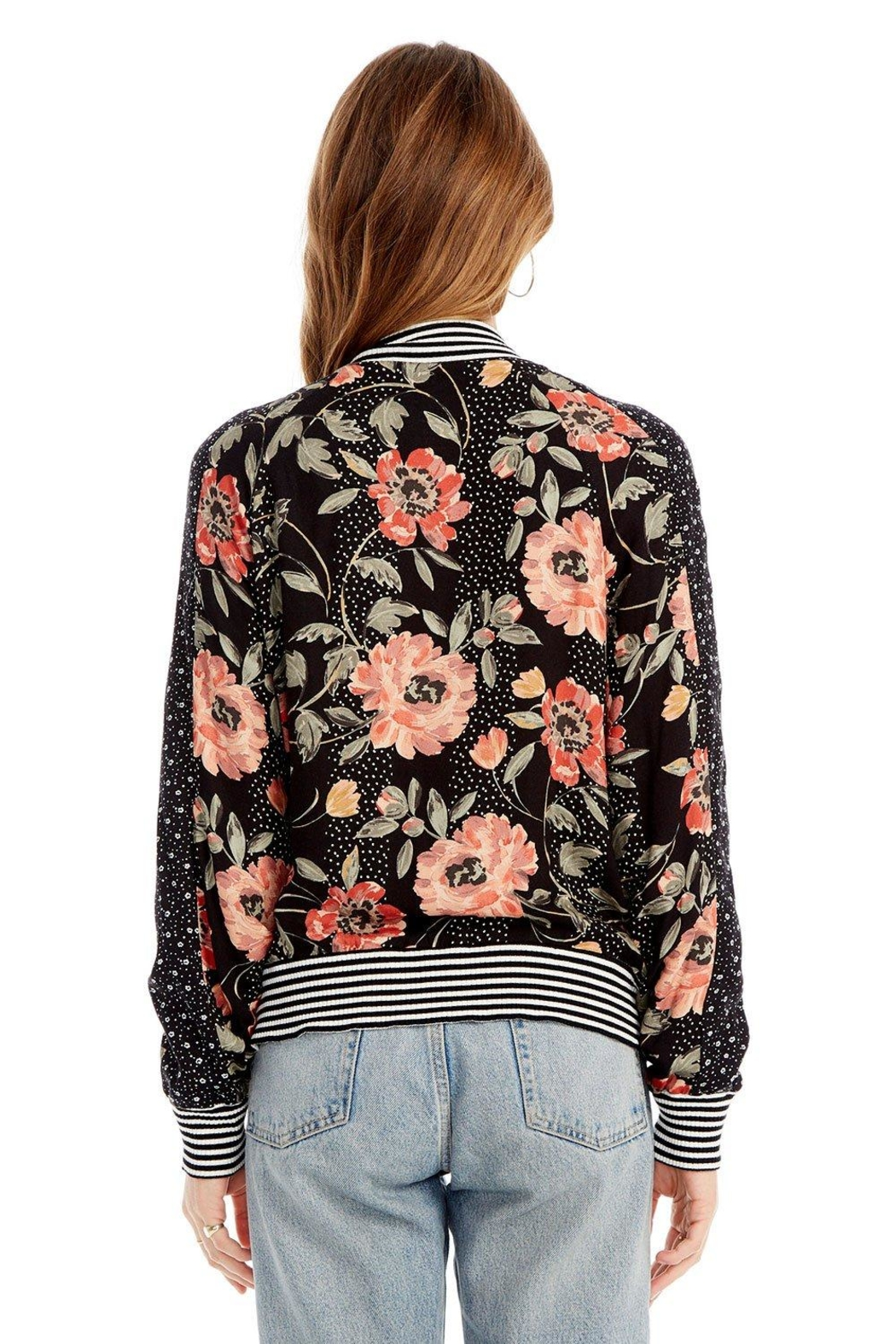 Saltwater Luxe Seville Bomber Jacket - Side Cropped Image