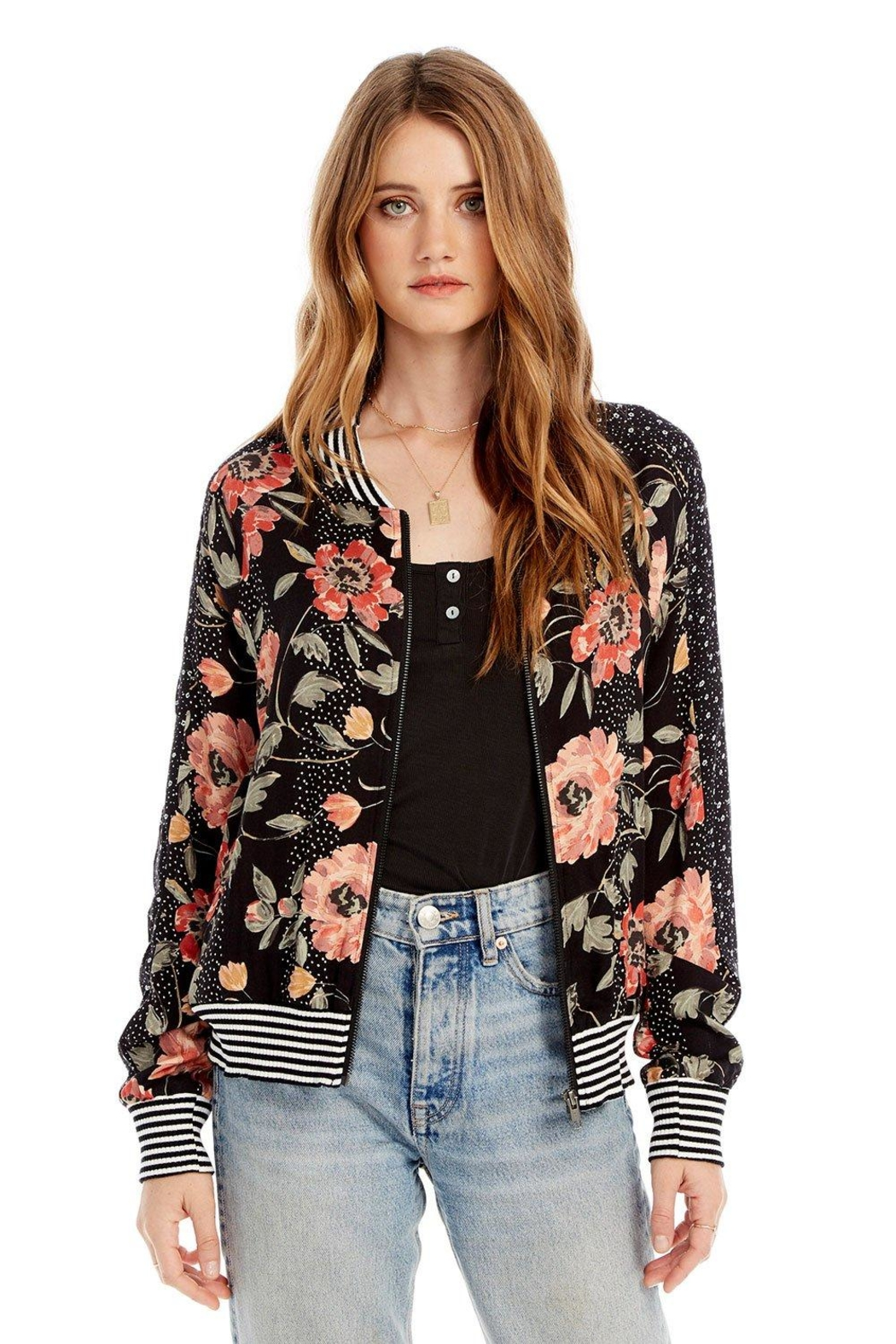 Saltwater Luxe Seville Bomber Jacket - Main Image