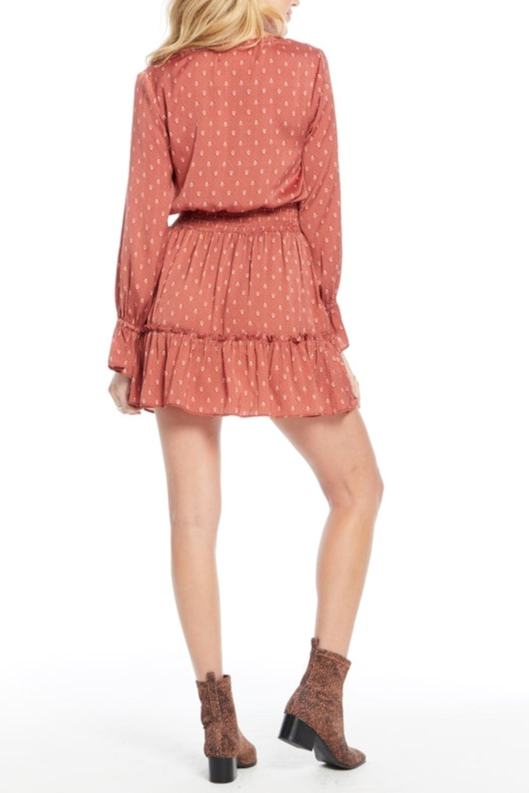 Saltwater Luxe Smocked Waist Dress - Side Cropped Image