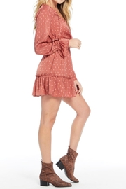 Saltwater Luxe Smocked Waist Dress - Front full body