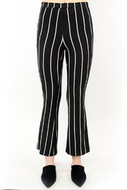 Saltwater Luxe Striped Flare Leggings - Front cropped