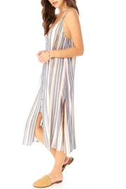 Saltwater Luxe Striped Midi Dress - Side cropped