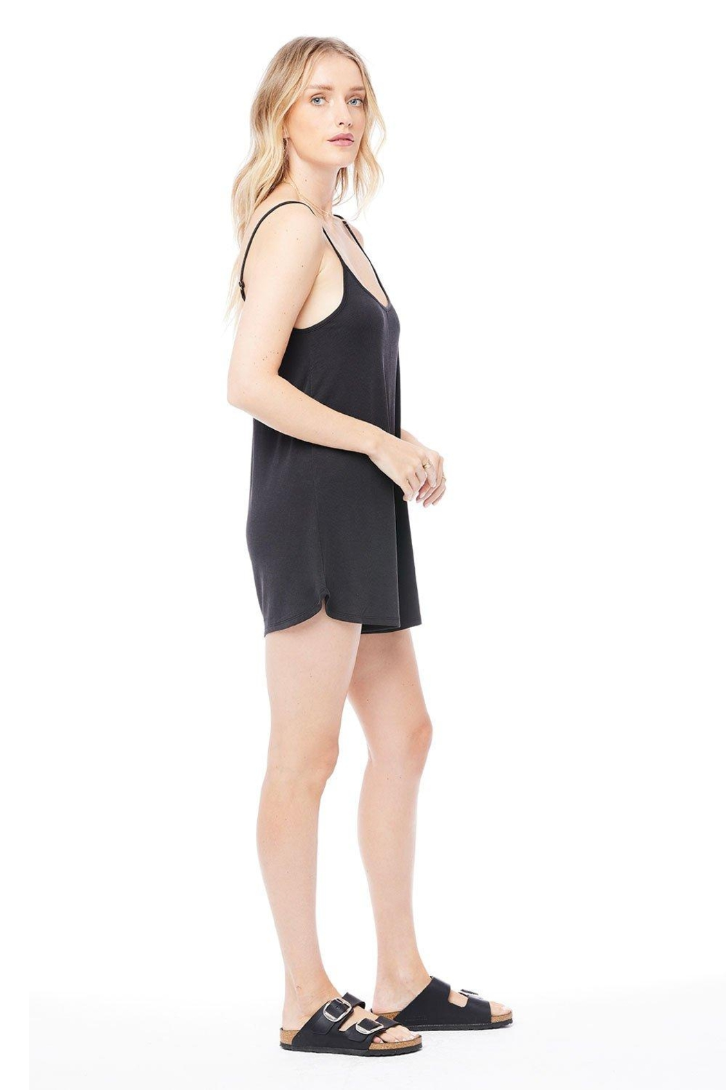 Saltwater Luxe Tank Romper - Front Full Image