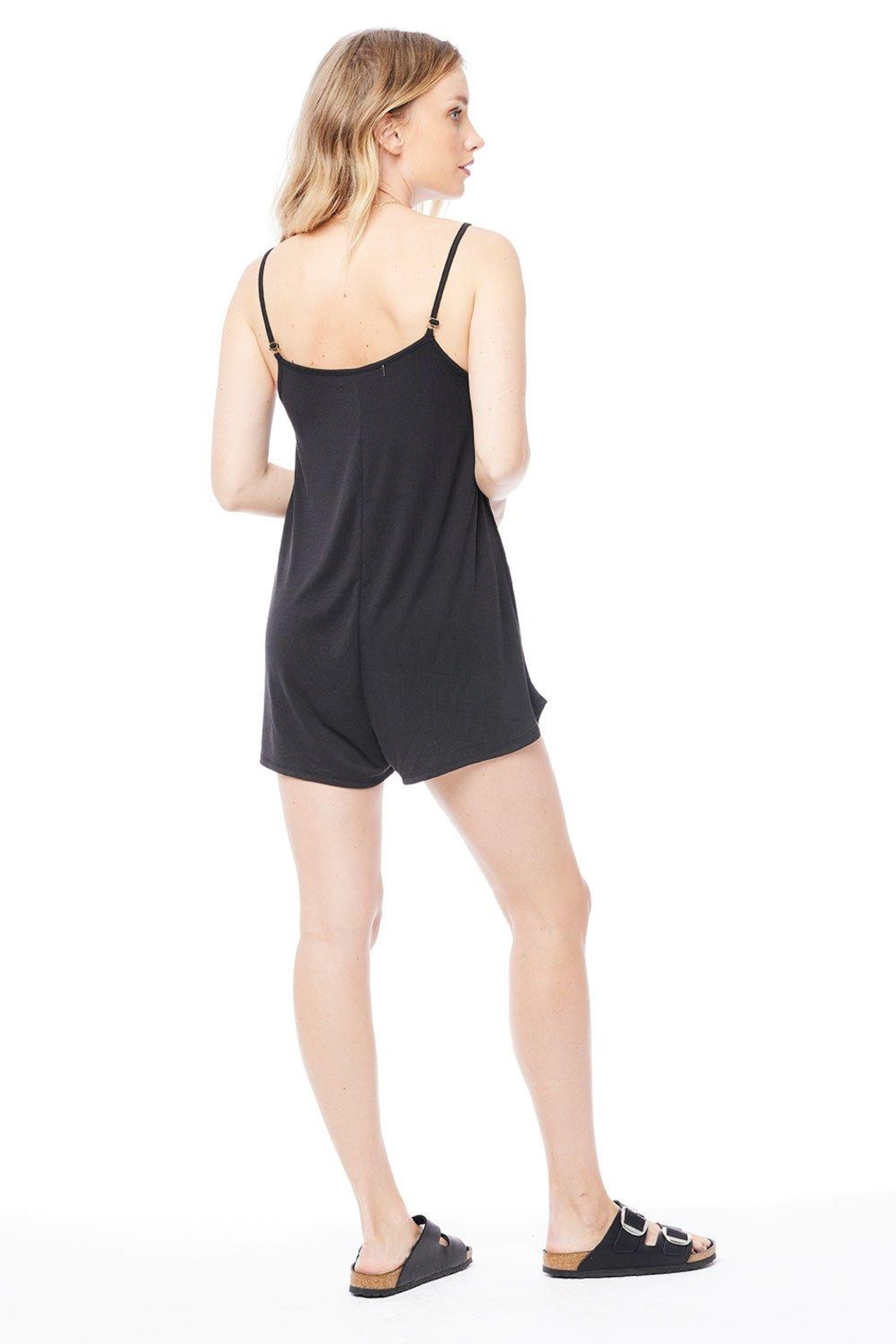 Saltwater Luxe Tank Romper - Side Cropped Image