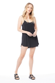 Saltwater Luxe Tank Romper - Front cropped
