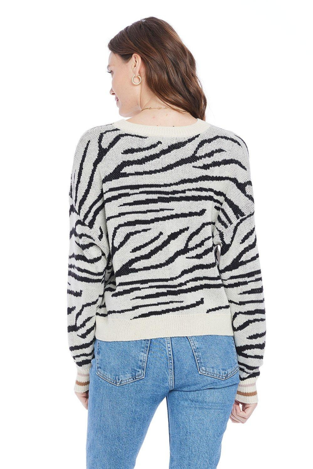 Saltwater Luxe Wendy Sweater - Side Cropped Image