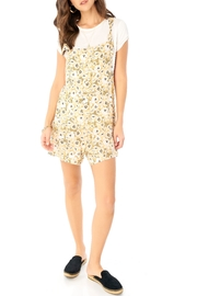 Saltwater Luxe Yellow Floral Romper - Product Mini Image