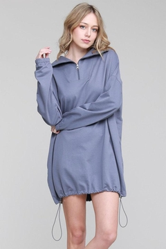 Salty Oversized Sweatshirt Dress - Product List Image