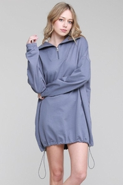 Salty Oversized Sweatshirt Dress - Product Mini Image