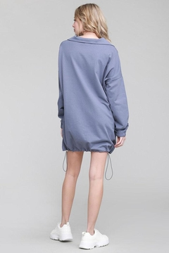 Salty Oversized Sweatshirt Dress - Alternate List Image