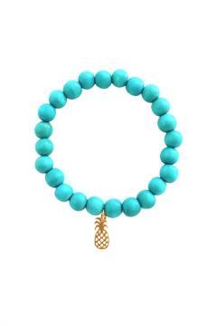 Shoptiques Product: Gold Pineapple Bracelet