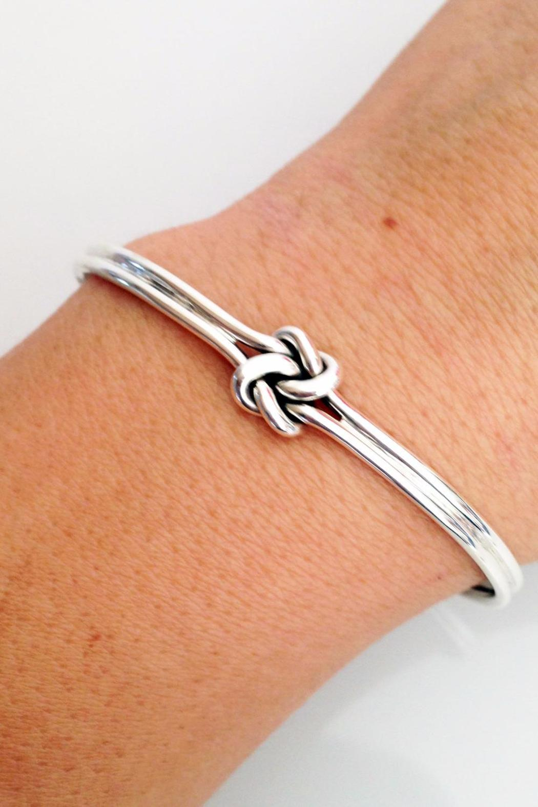 Salvador Jouhayerk Double Knot Cuff - Side Cropped Image