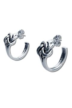 Salvador Jouhayerk Double Knot Hoops - Alternate List Image