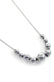 Salvador Jouhayerk Graduated Ball Necklace - Front cropped