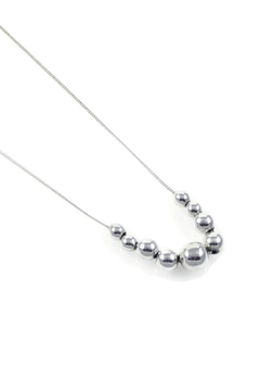 Salvador Jouhayerk Graduated Ball Necklace - Product List Image