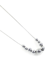 Salvador Jouhayerk Graduated Ball Necklace - Product Mini Image