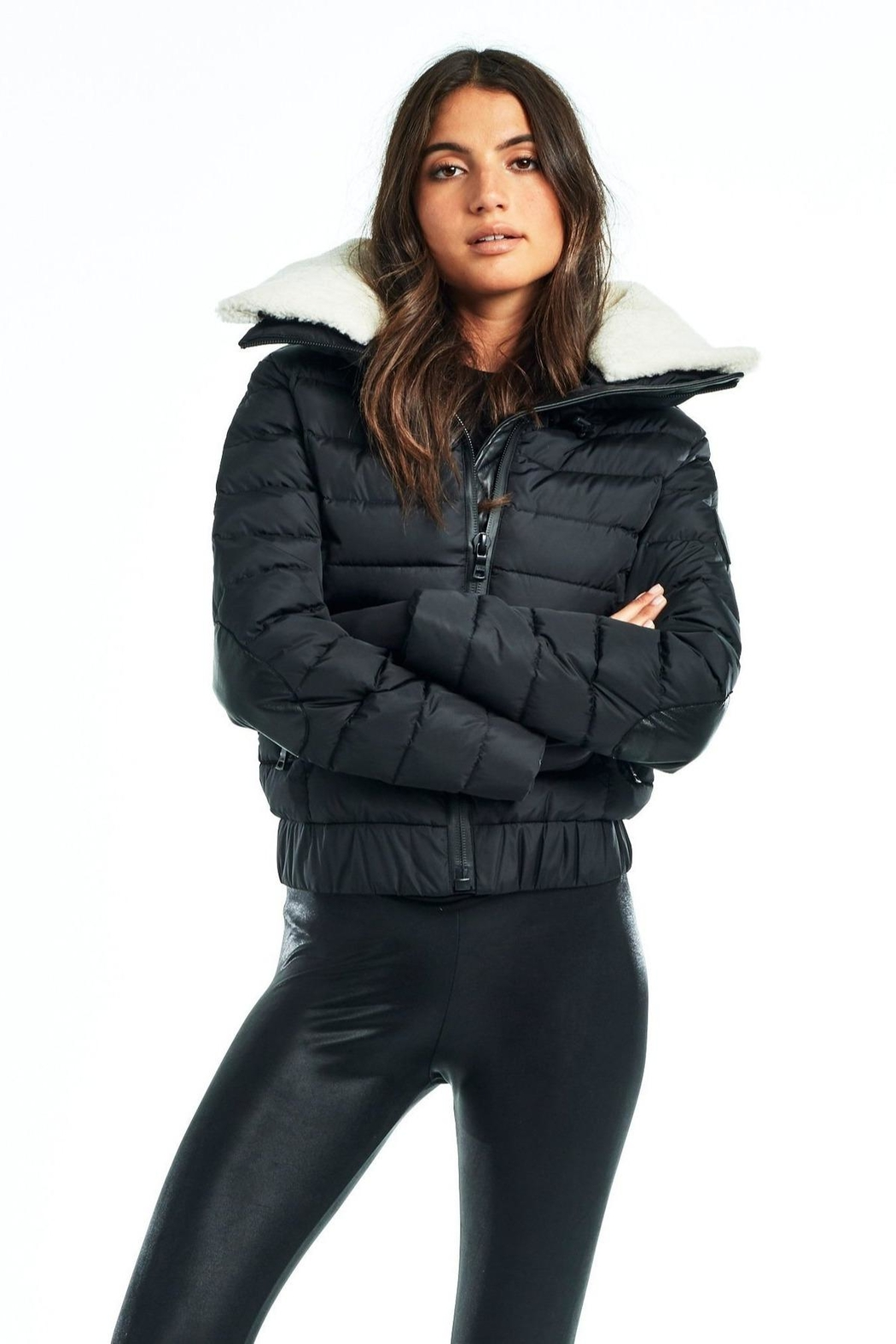Sam. Aviator Down Jacket - Front Cropped Image
