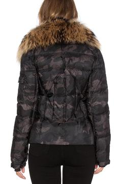 Shoptiques Product: Camo Fur Jacket