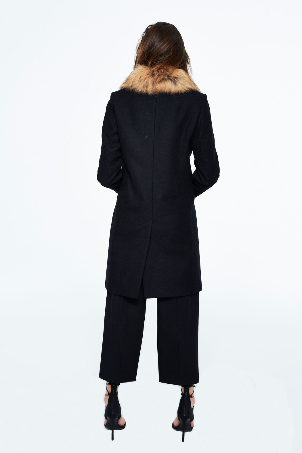 Sam. Crosby Wool Coat - Side Cropped Image