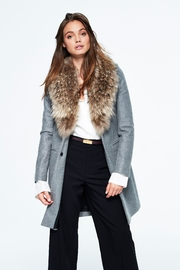 Sam. Crosby Wool Coat - Front full body