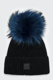 Sam. Fur Beanie - Front cropped