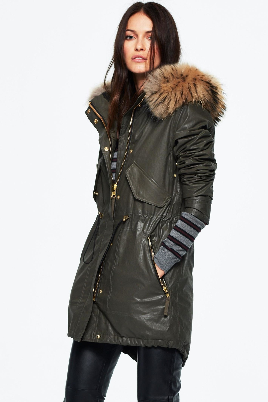 Sam. Hudson Parka - Side Cropped Image