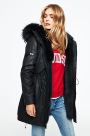 Sam. Luxe Limelight Parka - Front cropped