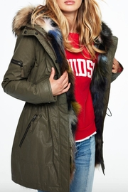 Sam. Multi Luxe Limelight Parka - Product Mini Image