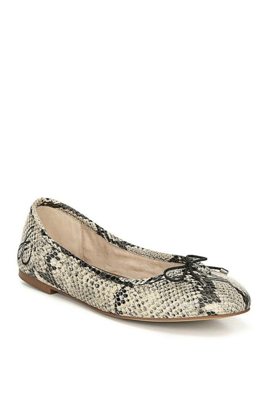 Sam Edelman Felicia in Nude Snakeskin - Front Cropped Image