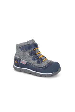 Shoptiques Product: Sam Waterproof High Top - Navy/Gray