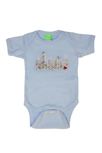 Shoptiques Product: Chicago Skyline Onesie - main