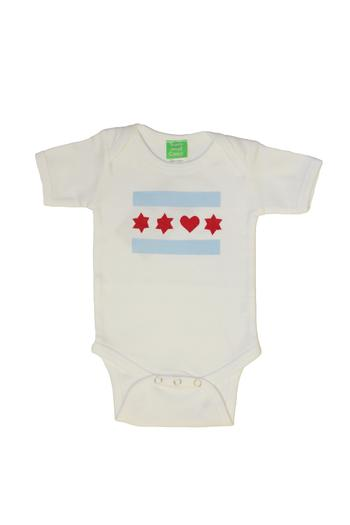 Shoptiques Product: Love Chicago Onesie - main