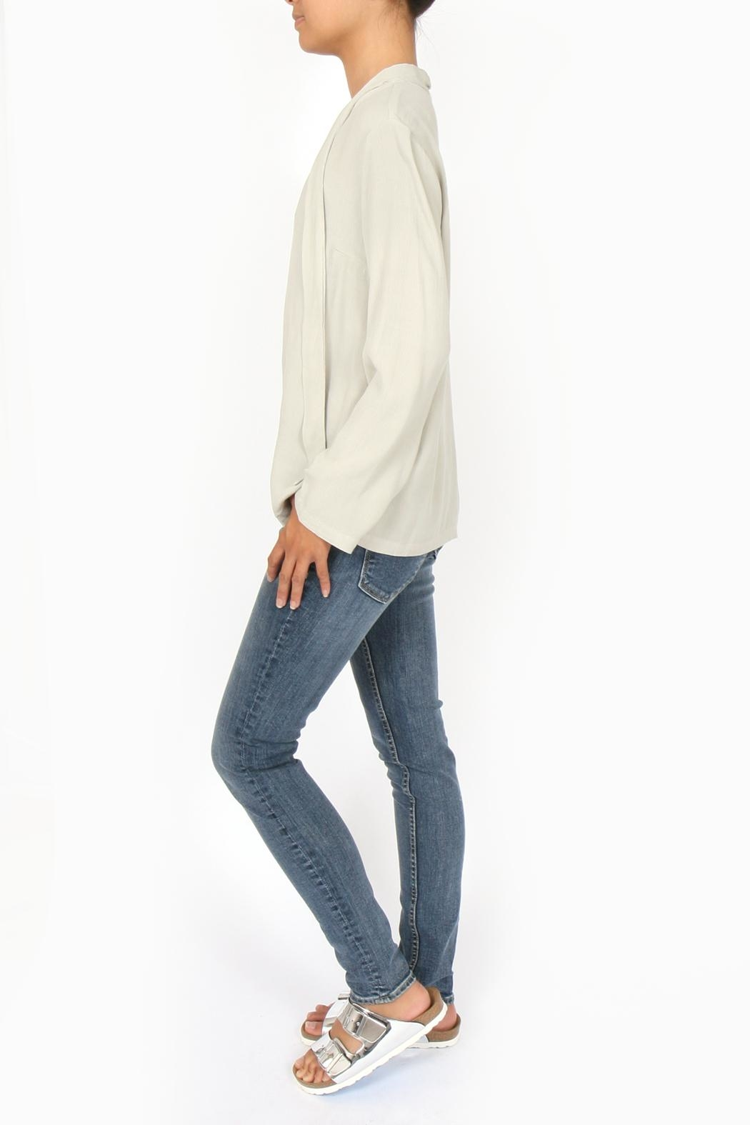 Sam & Lavi Rory Tie Blouse - Side Cropped Image