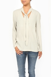Sam & Lavi Rory Tie Blouse - Front cropped