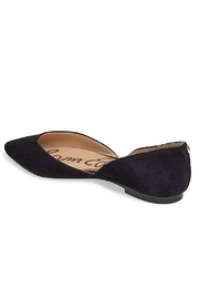Sam Edelman Black D'orsay Flat Shoes - Front full body